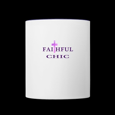 chic - Contrast Coffee Mug