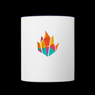 Modern Fire - Contrast Coffee Mug