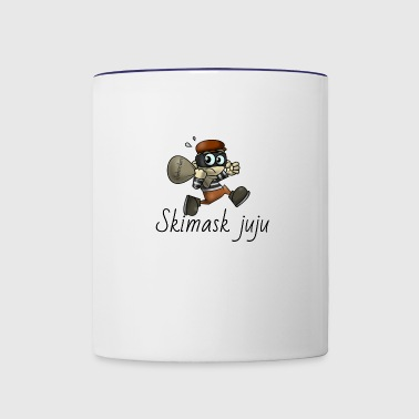 stealing subs - Contrast Coffee Mug