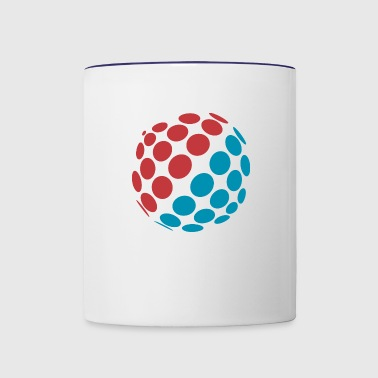 Ball Object - Contrast Coffee Mug
