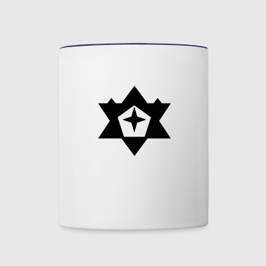 Black Star - Contrast Coffee Mug