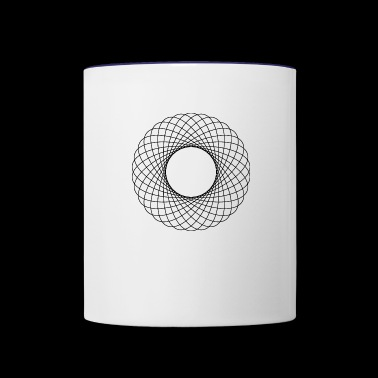 Circles - Contrast Coffee Mug