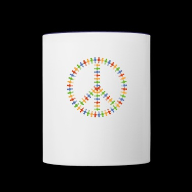 community - Contrast Coffee Mug