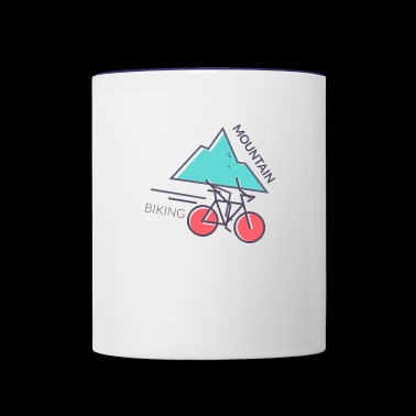 Mountain Biking - Contrast Coffee Mug