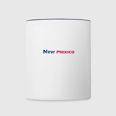 4th of July new mexico - Contrast Coffee Mug
