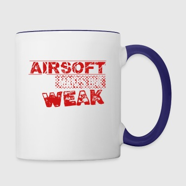 Airsoft Shirt - Contrast Coffee Mug