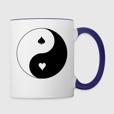 yin-and-yang - Contrast Coffee Mug