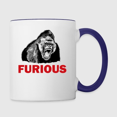 FURIOUS - Contrast Coffee Mug