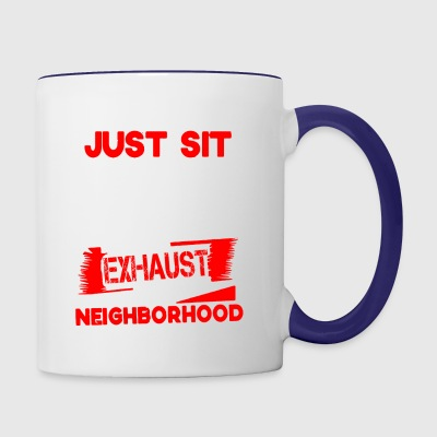 Mechanic Neighborhood - Contrast Coffee Mug