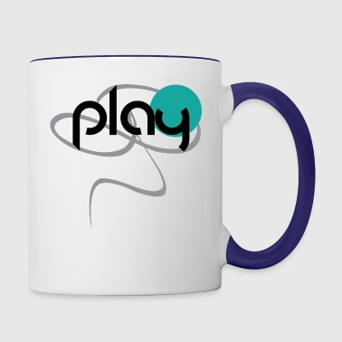 play - Contrast Coffee Mug
