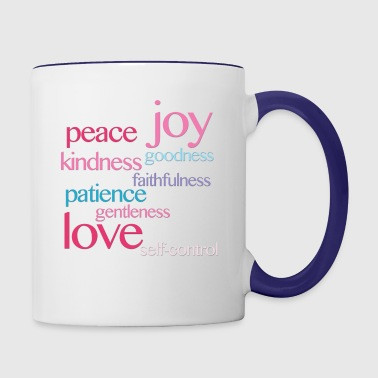 Fruits of the Spirit - Contrast Coffee Mug
