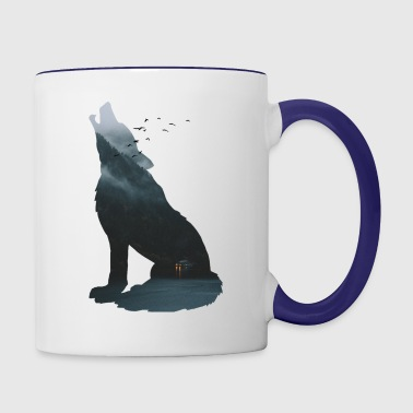 Silent forest - Contrast Coffee Mug