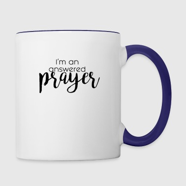 Answered Prayer - Contrast Coffee Mug