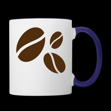 coffee beans - Contrast Coffee Mug