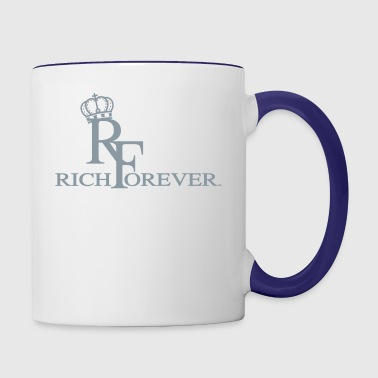 Rich forever 11 - Contrast Coffee Mug