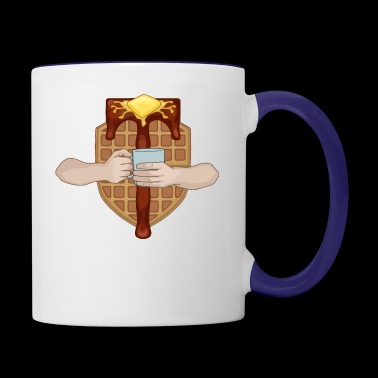 The Waffle Lords - Contrast Coffee Mug