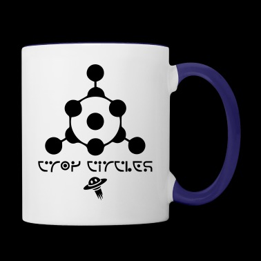 crop circles 2 - Contrast Coffee Mug