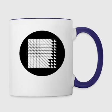 crop circles 25 - Contrast Coffee Mug