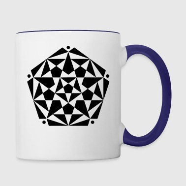 crop circles 20 - Contrast Coffee Mug