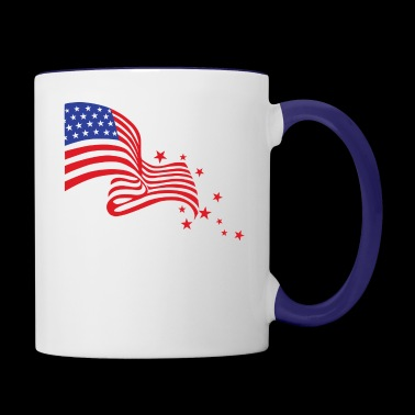 fourth of JULY - Contrast Coffee Mug