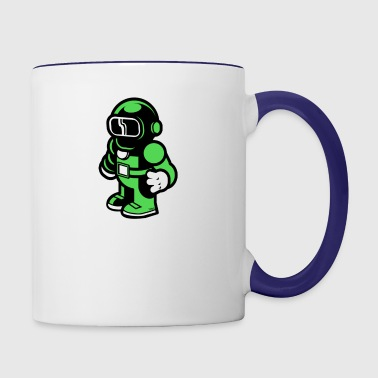 The Modern Spaceman - Contrast Coffee Mug