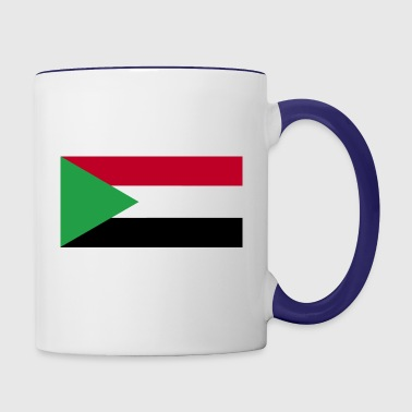 Sudan flag - Contrast Coffee Mug