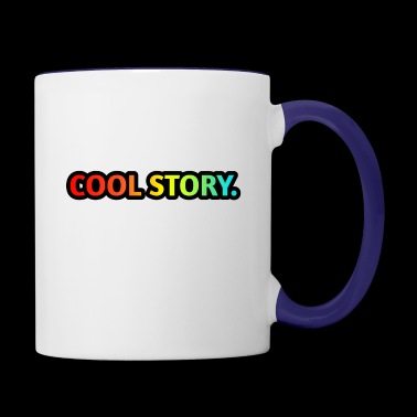COOL STORY. - Contrast Coffee Mug