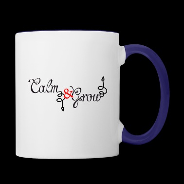 CALM Down - Contrast Coffee Mug