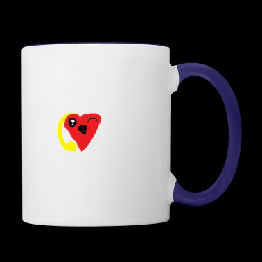 love heat - Contrast Coffee Mug