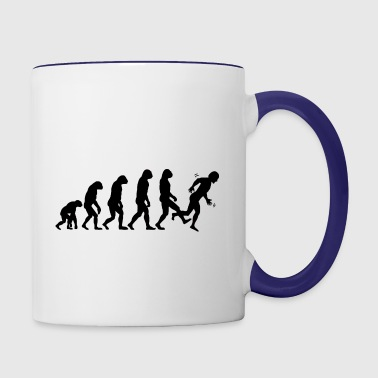 Kick Me - Contrast Coffee Mug