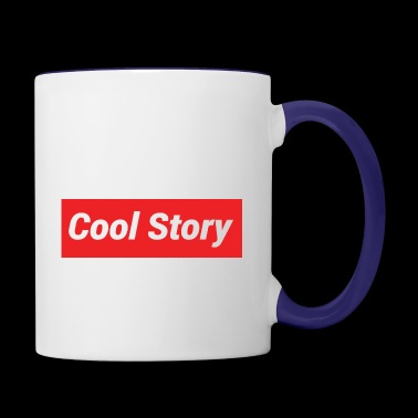 Cool Story - Contrast Coffee Mug