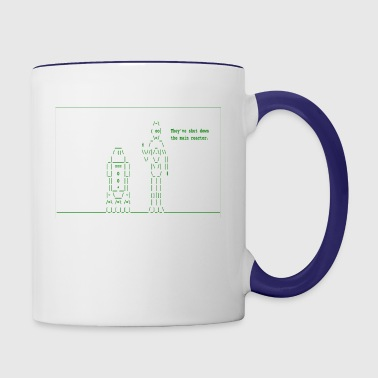 Star Wars - They've Shut Down the Main Reactor - Contrast Coffee Mug