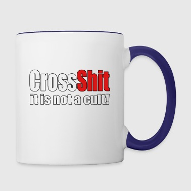 CrossShit Not a Cult - Contrast Coffee Mug