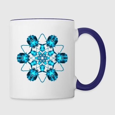Throat Chakra Ocean - Contrast Coffee Mug