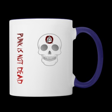 Punk is not dead - Contrast Coffee Mug