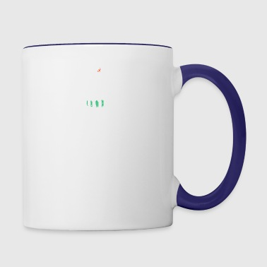 lookin sharp - cactus - Contrast Coffee Mug