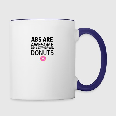 Funny workout designs - Contrast Coffee Mug