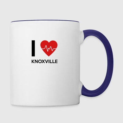 I Love Knoxville - Contrast Coffee Mug