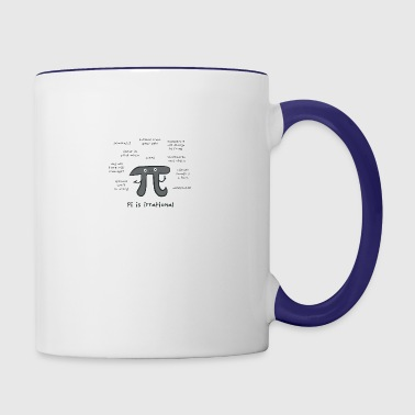 Irrational Pi - Contrast Coffee Mug