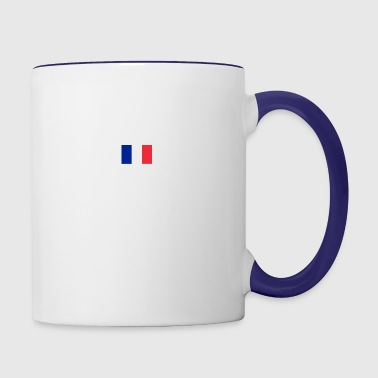SUPERPOWER_-_french - Contrast Coffee Mug