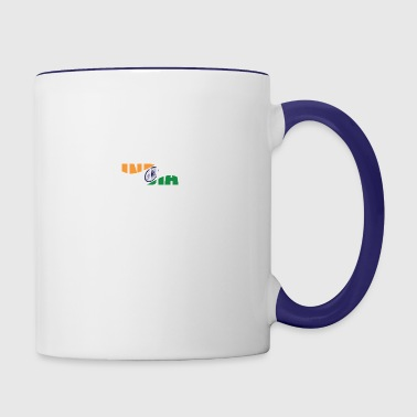 country India - Contrast Coffee Mug