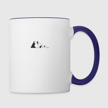 Mountains - Contrast Coffee Mug