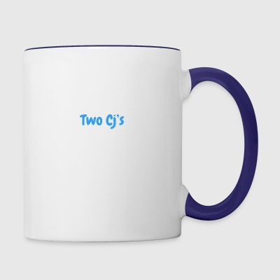 Two Cj's no logo - Contrast Coffee Mug