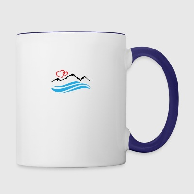 Lake Tahoe - Contrast Coffee Mug