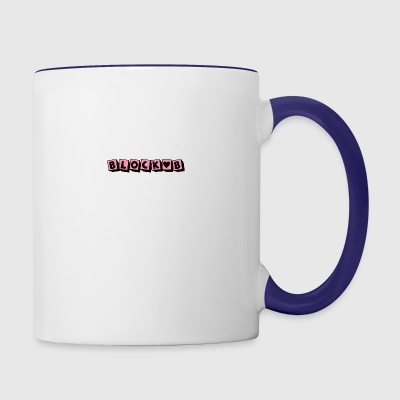 block b - Contrast Coffee Mug