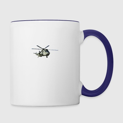US Army Helicopter Special Forces Airforce - Contrast Coffee Mug