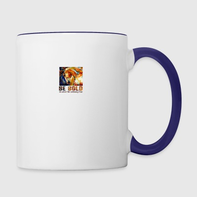 Be bold - Contrast Coffee Mug