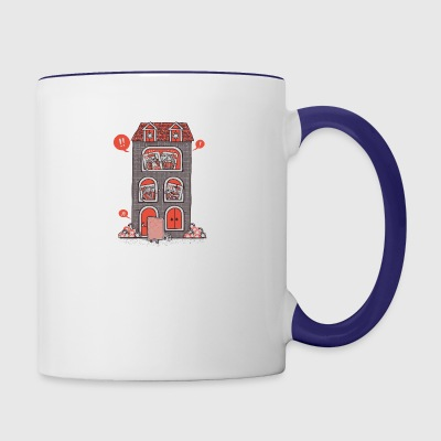 Full House - Contrast Coffee Mug