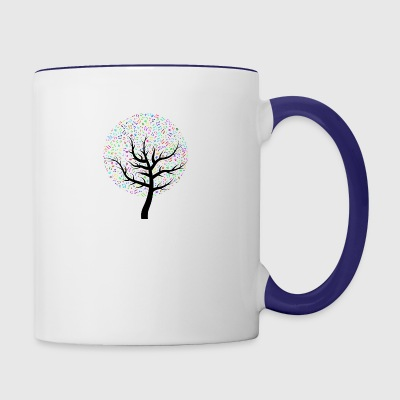 Musictree - Contrast Coffee Mug