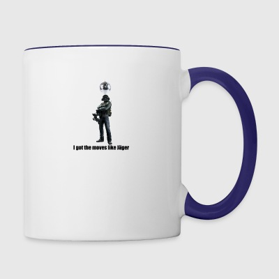 moves like jager - Contrast Coffee Mug